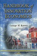 Handbook of Innovation Economics