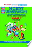 Oswaal NCERT Problems   Solutions  Textbook   Exemplar  Class 7 Science Book  For 2022 Exam