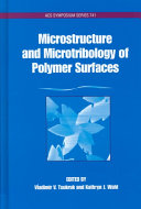 Microstructure and Microtribology of Polymer Surfaces Book
