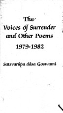 The Voices of Surrender and Other Poems 1979-1982