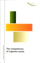 The Competences of Supreme Courts