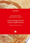 Current Perspectives In Human Papillomavirus Book PDF