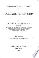 Introduction to the Study of Inorganic Chemistry Book PDF