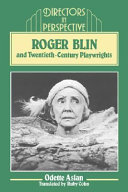 Pdf Roger Blin and Twentieth-Century Playwrights