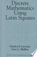 Discrete Mathematics Using Latin Squares