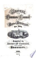 Manual Of The Common Council Of The City Of Brooklyn For