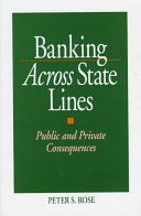 Banking Across State Lines