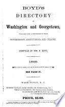 Boyd's Directory of Washington & Georgetown