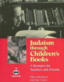 Judaism Through Children s Books