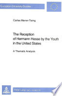 The Reception of Hermann Hesse by the Youth in the United States