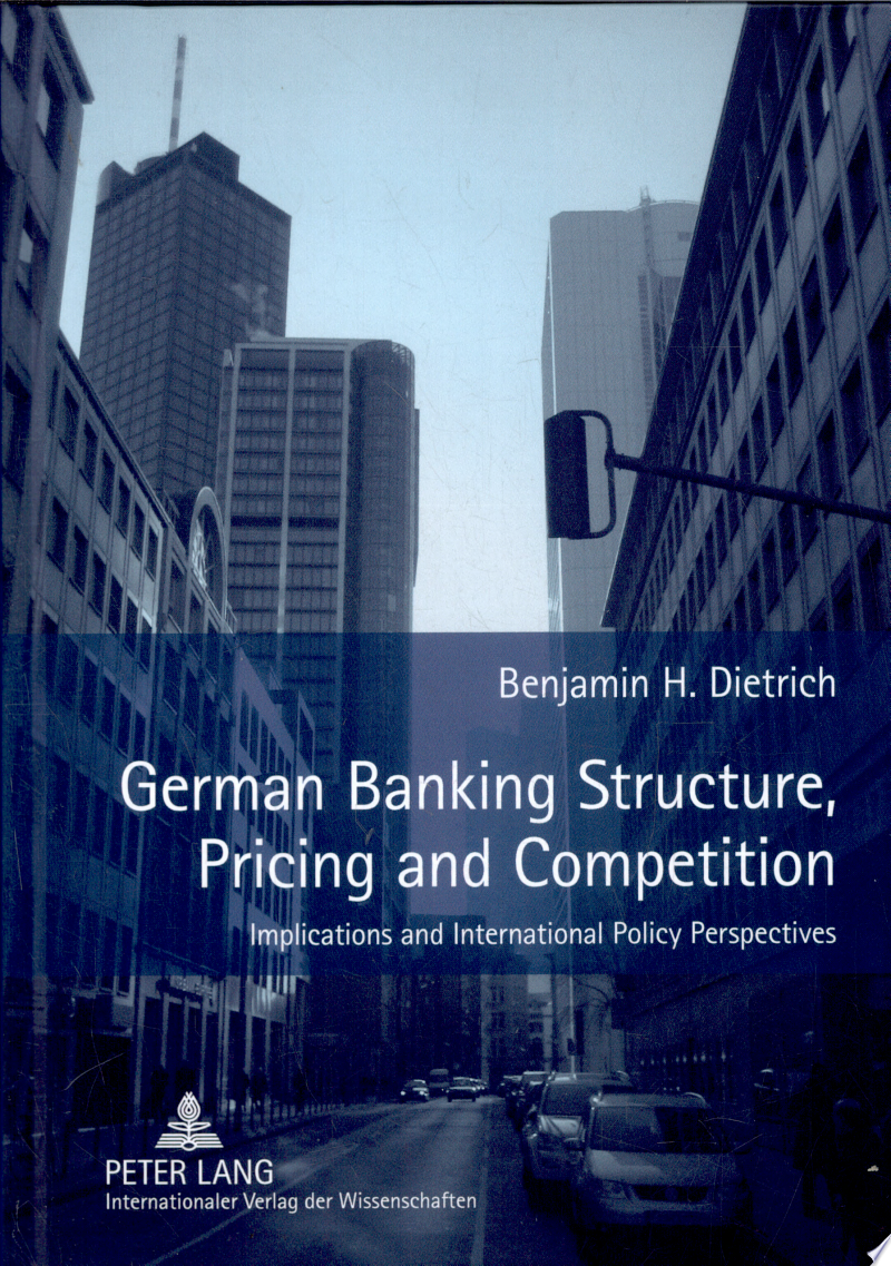 German Banking Structure, Pricing and Competition banner backdrop