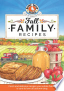 Fall Family Recipes Book PDF
