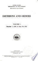 Decisions and Orders by United States. Bituminous Coal Division PDF