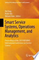 Smart Service Systems  Operations Management  and Analytics Book