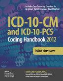 ICD 10 CM and ICD 10 PCS 2012 Coding Handbook Book
