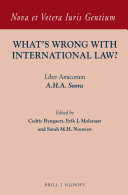 What's Wrong with International Law?