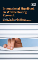 International Handbook on Whistleblowing Research