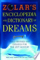 Zolar S Encyclopedia And Dictionary Of Dreams