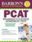 Barron's PCAT Pharmacy College Admission Test