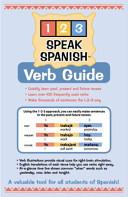 1 2 3 Speak Spanish Verb Guide Book PDF