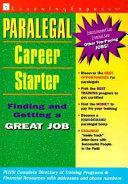 Paralegal Career Starter