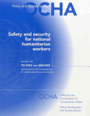 Safety and Security for National Humanitarian Workers