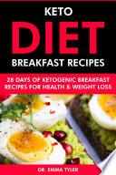 Keto Diet Breakfast Recipes