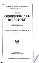 Official Congressional Directory Book PDF