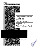 Compliance Guidance and Model Risk Management Program for Water Treatment Plants
