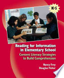 Reading for Information in Elementary School
