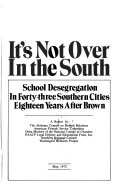 It's Not Over in the South