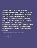 The Works of John Adams, Second President of the United States Volume 6