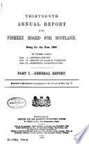 Annual Report of the Fishery Board of Scotland Book
