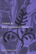 Contexts for Frank McGuinness's Drama ebook