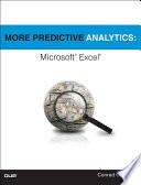 More Predictive Analytics  : Microsoft Excel