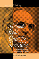 Pdf Helmut Kohl's Quest for Normality Telecharger