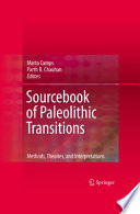 Sourcebook of Paleolithic Transitions Book