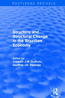 Revival  Structure and Structural Change in the Brazilian Economy  2001