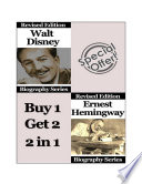 Celebrity Biographies   The Amazing Life Of Walt Disney and Ernest Hemingway   Biography Series