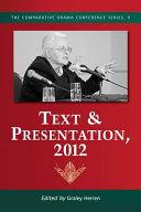 Text   Presentation  2012