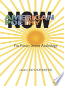 American Poetry Now Book