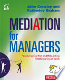 Mediation for Managers