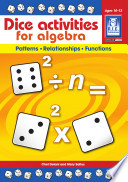 Dice Activities for Algebra   Ages 10 13