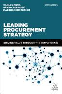 Leading Procurement Strategy