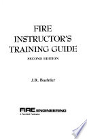 Fire Instructor's Training Guide