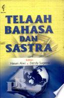 Telaah bahasa dan sastra