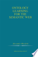 Ontology Learning for the Semantic Web Book
