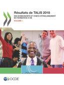 Pdf TALIS Résultats de TALIS 2018 (Volume I) Des enseignants et chefs d'établissement en formation à vie Telecharger