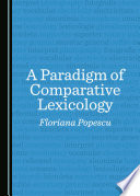 A Paradigm of Comparative Lexicology