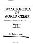 Encyclopedia of World Crime: S-Z ; Supplements